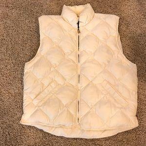 Eddie Bauer Premium Goose Down Puffer Vest XL EUC